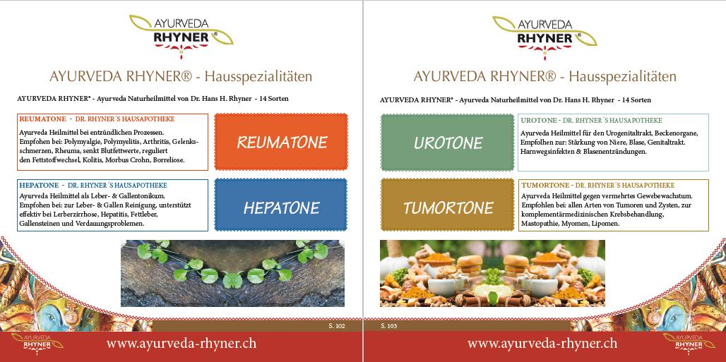 AYURVEDA RHYNER® - Katalog - AYURVEDA RHYNER® - EU