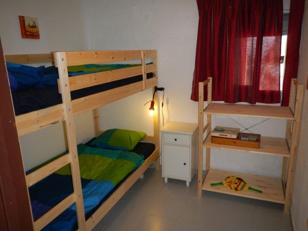 Casa Familia, Kinderzimmer mit großen Betten im Urlaub auch für Erwachsene möglich