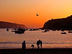Ferienapartment, Strand von Sao Martinho do Porto, Portugal