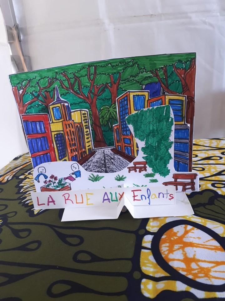 Rue aux enfants à Fives - octobre 2019