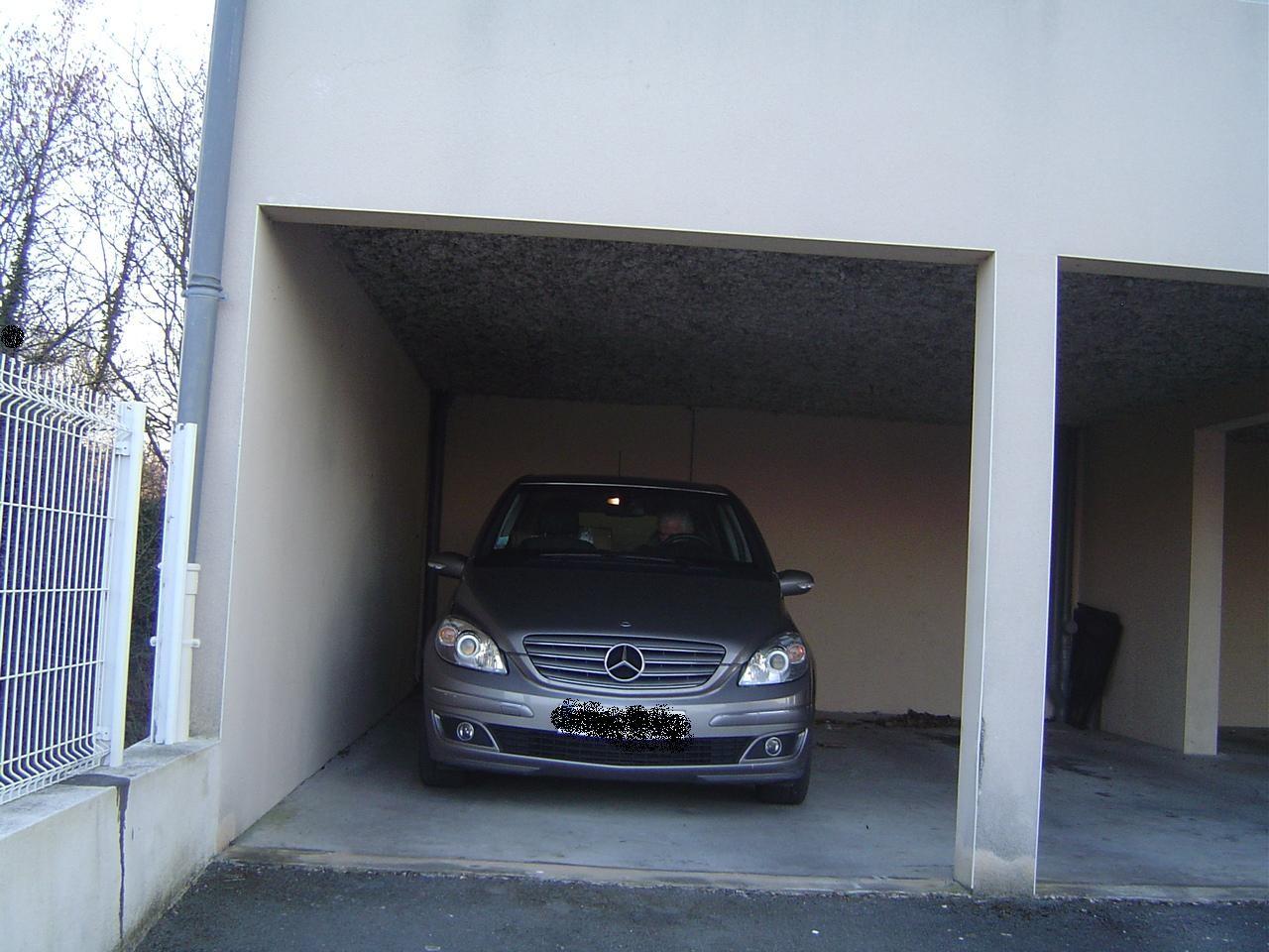 le parking couvert