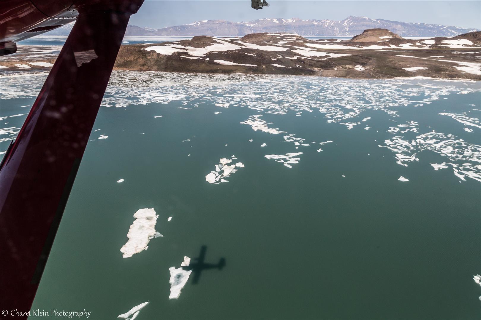 Flight Constable point - Mestersvig
