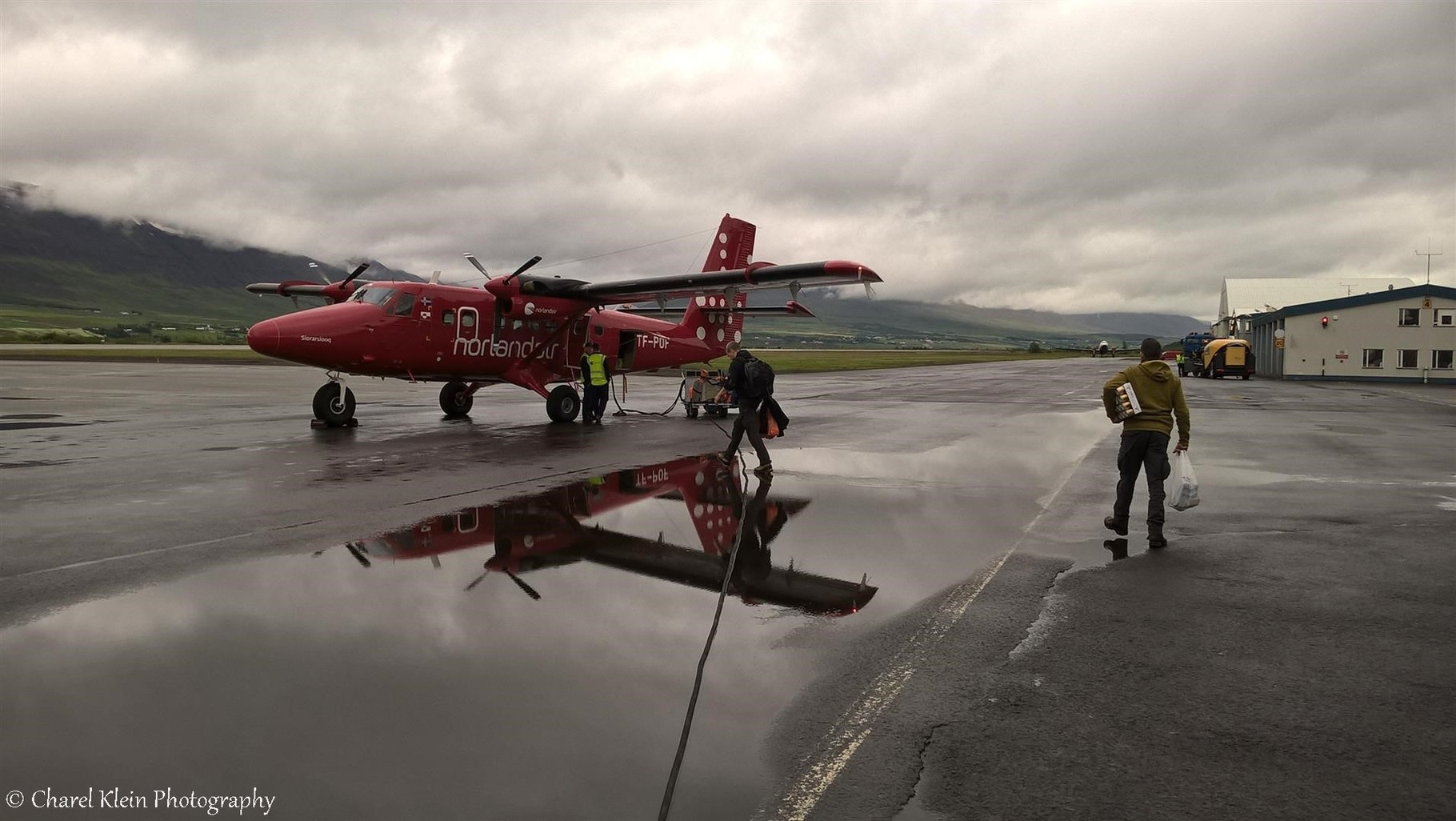 Start at Akureyri airport