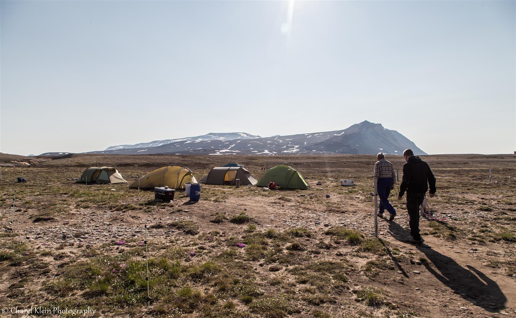 Karupelv Valley Project camp