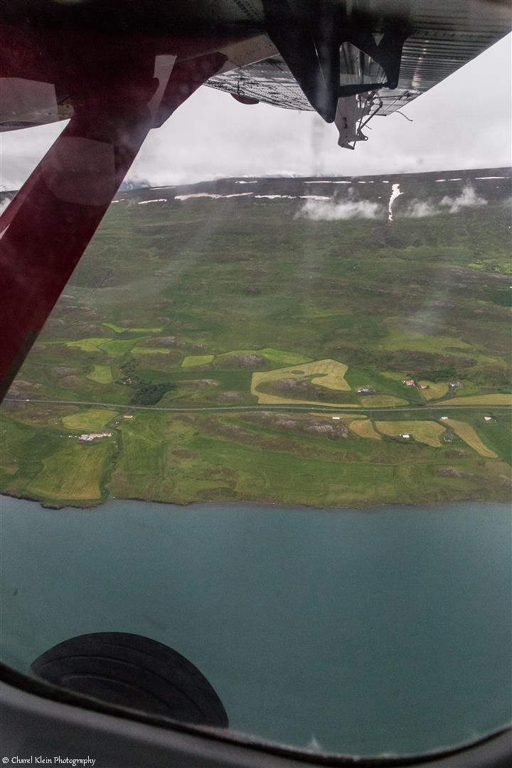 Flight Akureyri - Constable point