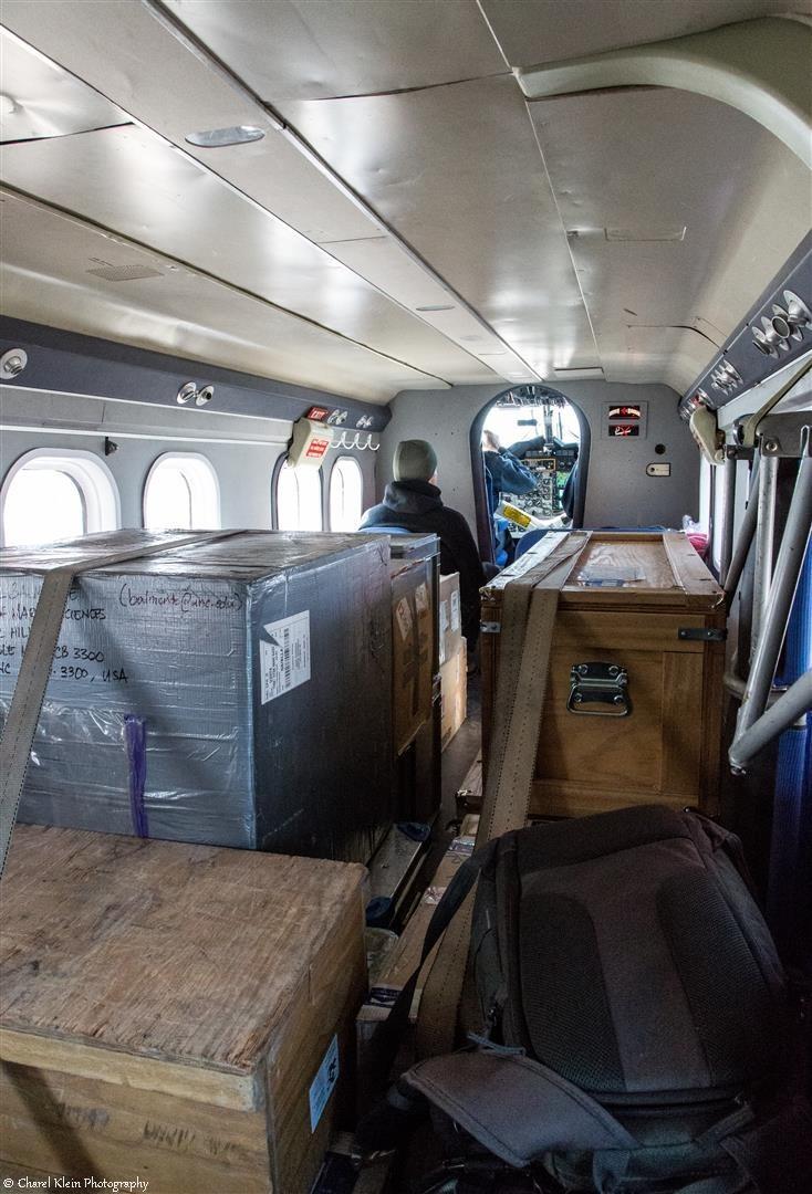 Flight  Mestersvig - Traill