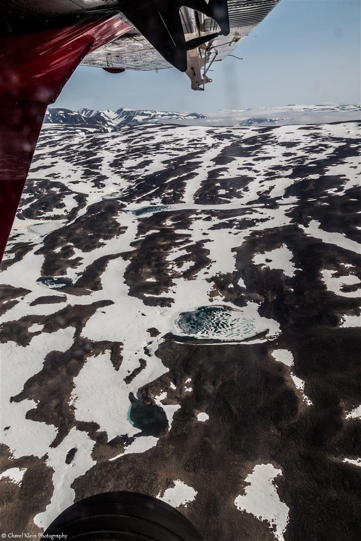Flight Akureyri - Constable point