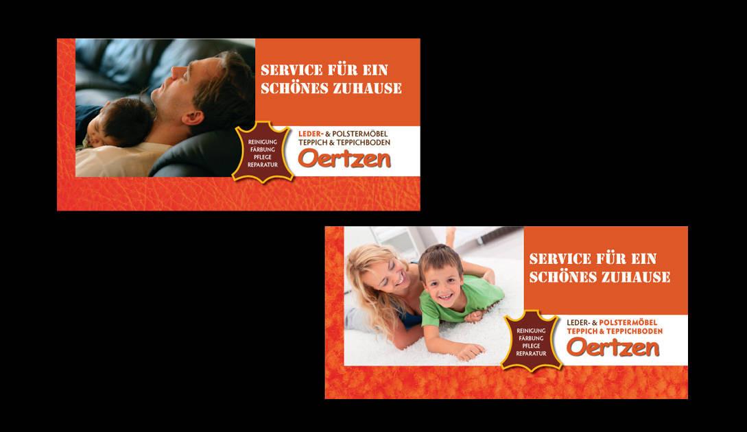 Faltblatt DIN-lang quer für Firma Oertzen Service