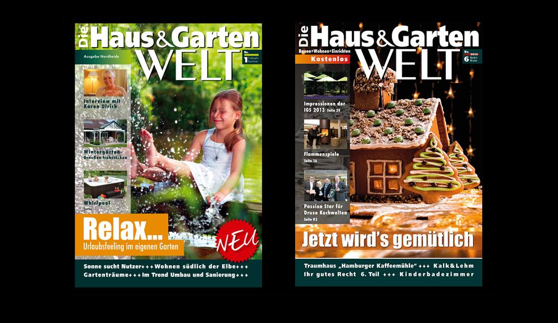 """Erscheinungsbild und Art Direction für das Magazin """"Die Haus und Garten WELT"""""""
