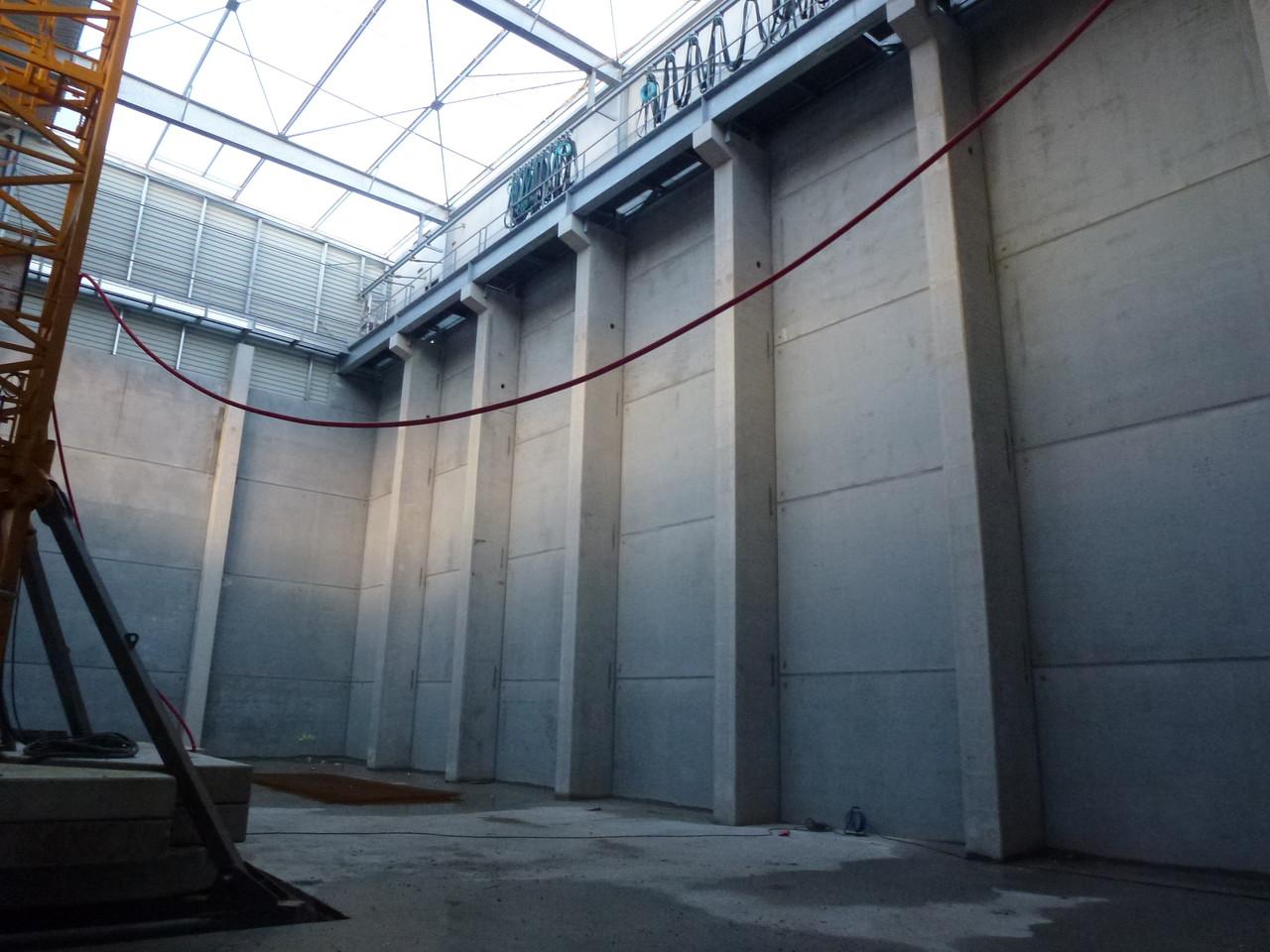 COGENERATION / BIOMASSE ; Bâtiment de stockage ORLEANS