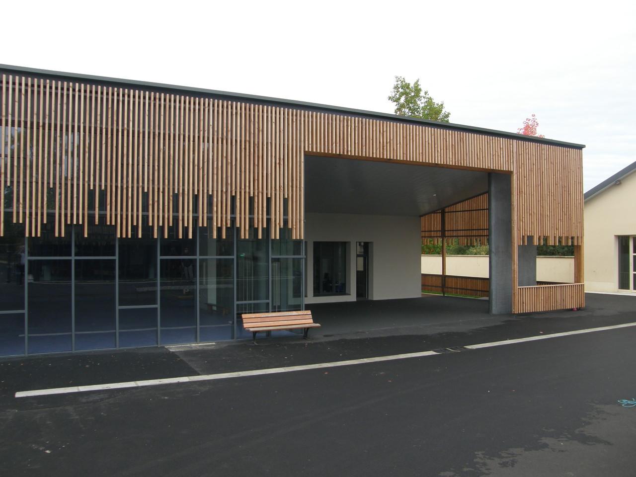 Ecole maternelle Vulaines sur Seine (77) B.E STRUCTURE BETON