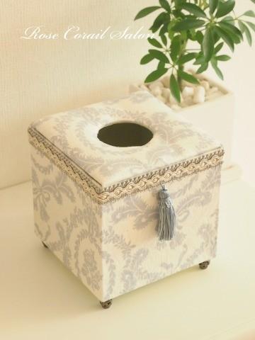 カルトナージュ:縦型ティッシュボックス