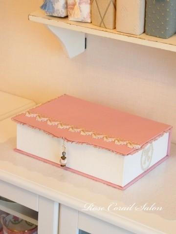 カルトナージュ:Book型ボックス