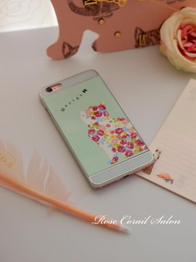 ポーセラーツでiPhone6カバー