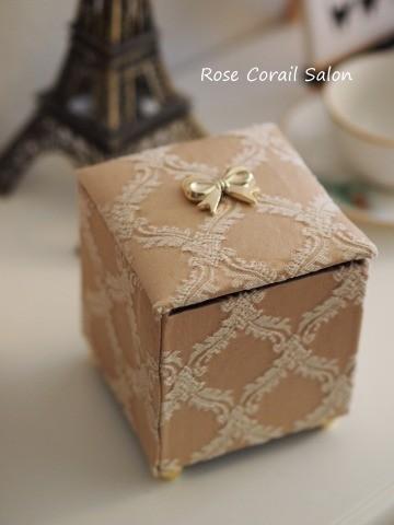 カルトナージュ:小箱