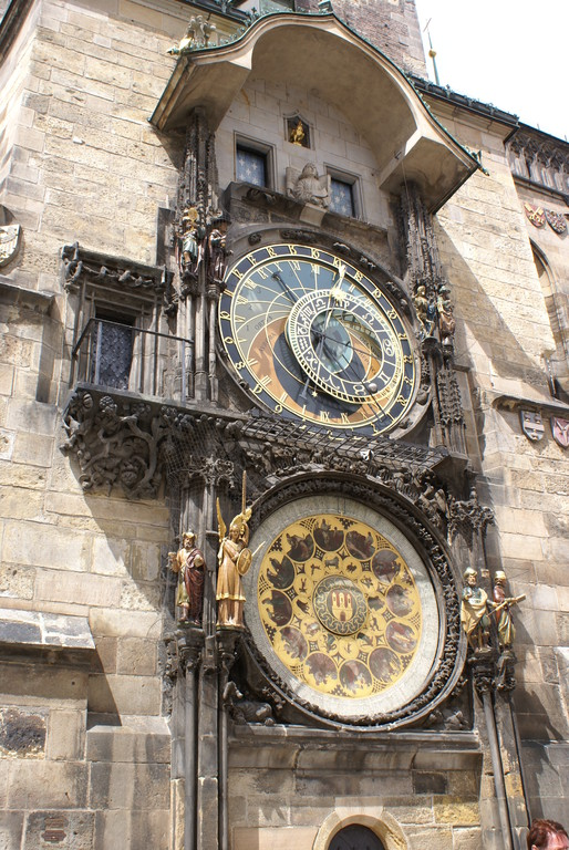 L' horloge astronomique