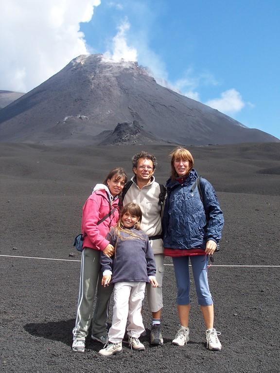 """l' Etna et sa photo """"Prout"""""""