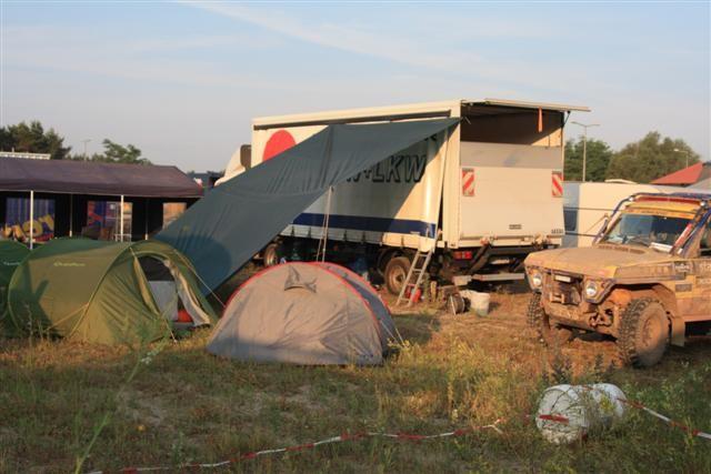 Camp in Zagan