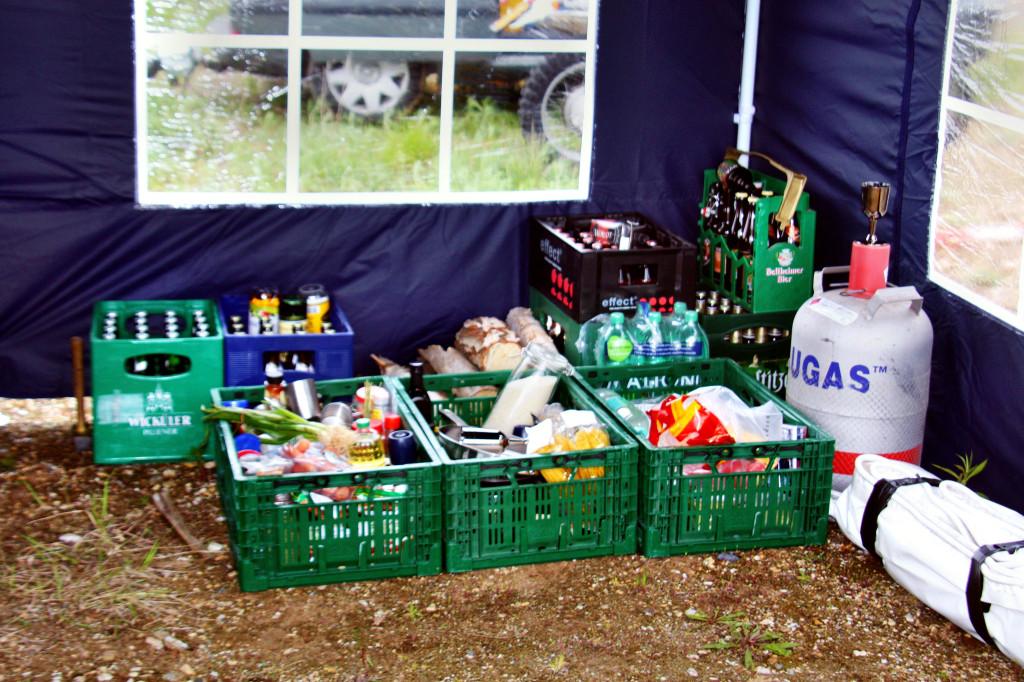 Nahrungs und Genussmittellager