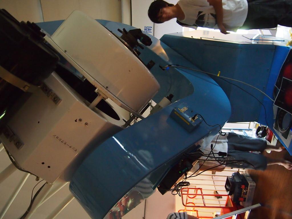 なゆたとは別にある、60cm望遠鏡です。
