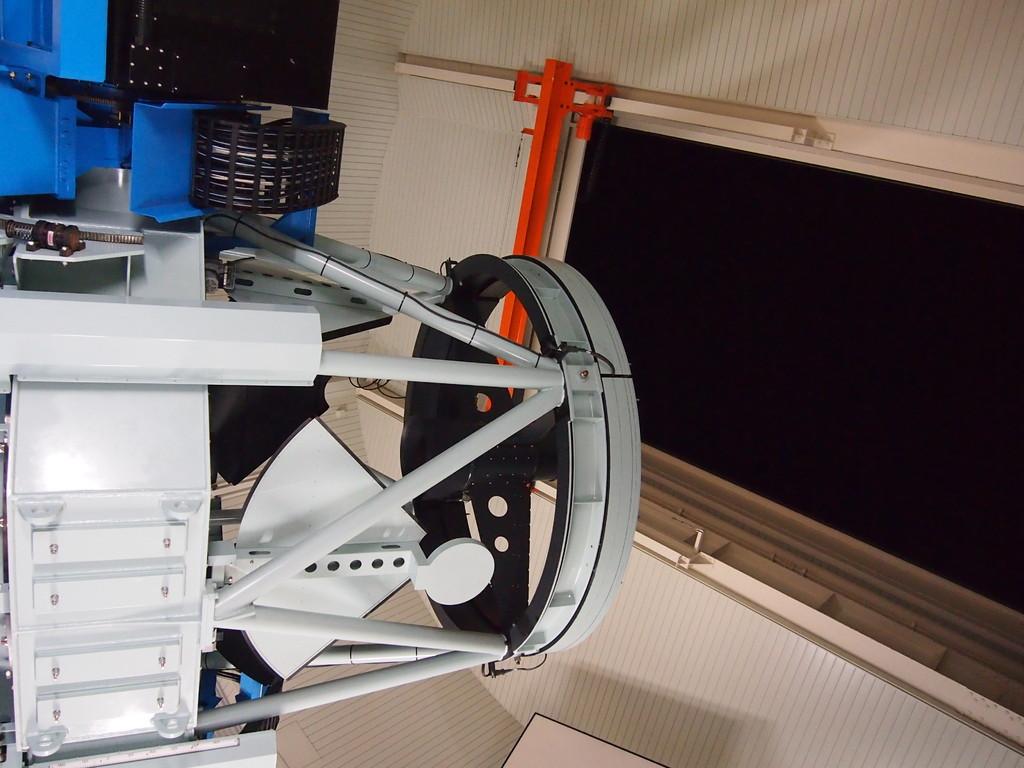 夜の観望会。なゆた望遠鏡です!