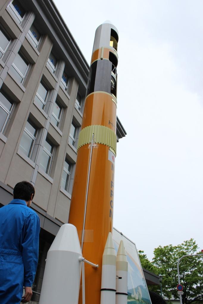 H2‐Aロケット 20分の1模型