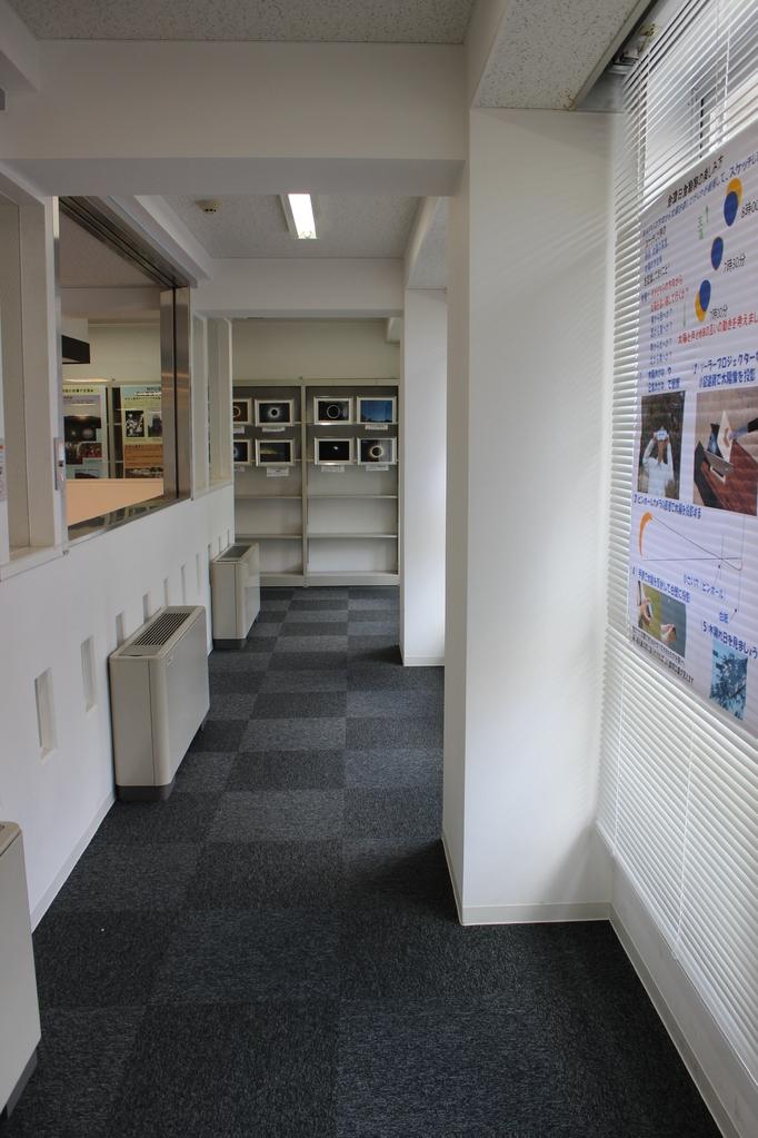 上階は展示が主でした。