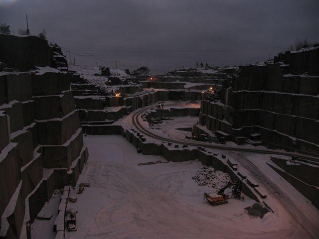 Klåstadsteinbrudd, Larvik