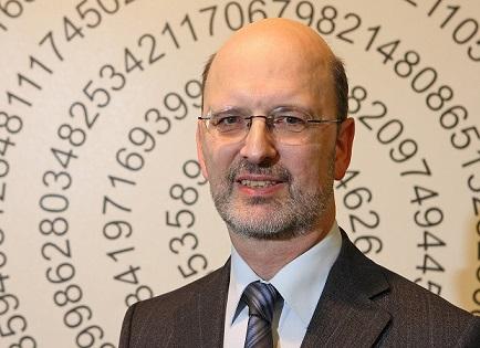 Prof. Dr. Albrecht Beutelspacher, Gründer und Direktor des Mathematikums in Gießen