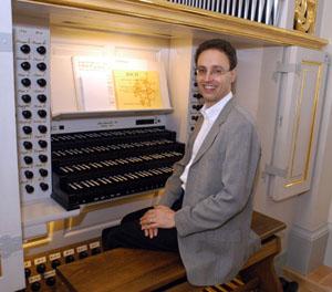 Samuel Kummer, Organist der Frauenkirche in Dresden