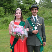 Königspaar 2017 Simon Briel und Vanessa Henkel