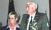 Ehrenkönigspaar Hermann Schüssler und Angelika Schüssler