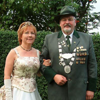 Kreiskönigspaar Gerhard Zahn und Anita Zahn