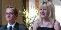 Jugendkönigspaar 2008 Dominik Wolf und Pia Schmitt