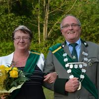 Königspaar 2015 Ulrich Hiemer und Marina Hiemer