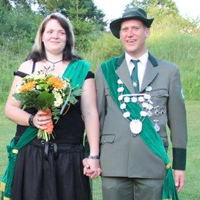 Königspaar 2014 Jörg Mankel und Frauke Hiemer