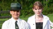 Jugendkönigspaar 2005 Daniel Briel und Lena Schmitt