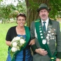 Königspaar 2012 Michael Kollek und Karin Vogeler