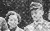 Königspaar 1955 Günter Koch und Sophie Wiegand