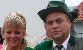 Königspaar 2009 Martin Löwer und Beate Costenaro