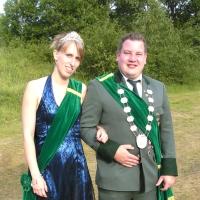 Königspaar 2011 Michael Zahn und Johanna Lichtenfels