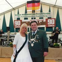 Kreisschützenfest Herbelhausen/Hohes Lohr Timo Maurer Beate Costenaro