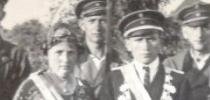 Königspaar 1929 Karl Hirsch und Luise Schäfer