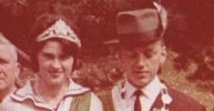 Königspaar 1963 Konrad Huft & Ilse Bornscheuer