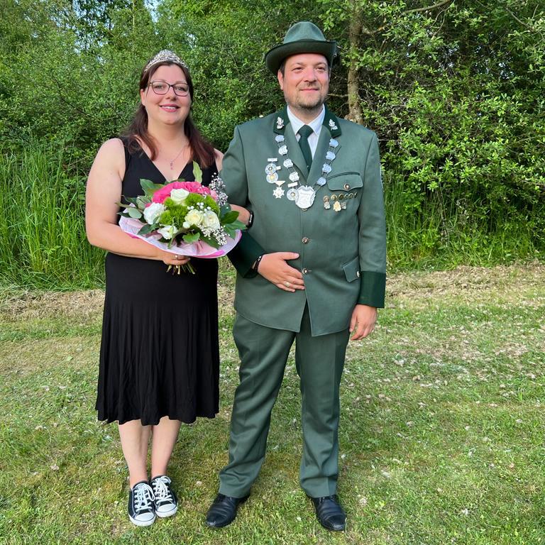 Königspaar 2018 Daniel Briel und Frauke Hiemer