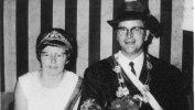 Königspaar 1970 Otto Schmidt und Elfriede Ludwig