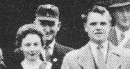 Königspaar 1956 Werner Huft und Gertrud Schäfer