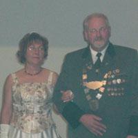 Kreisschützenball 2006 Gerhard Zahn und Anita Zahn