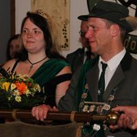 Vogelschießen 2014 Haftal Jörg Mankel und Frauke Hiemer