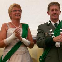 Kreisschützenfest 2007 Jürgen Mankel und Birgit Vial